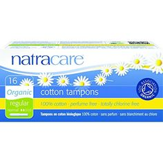 Natracare: Regular Tampons With Applicator, 16 ct (3 pack)