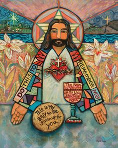 Jesus, Eucharist
