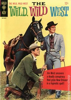 The Wild Wild West comic #2 Gold Key publishers  - August 1966