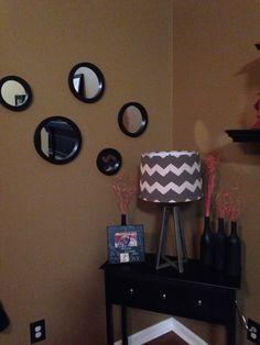 Created a mirror wall!!! #mirrorwall%