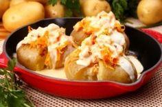 Batatas ao murro com tiras de peixe
