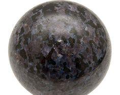 JUMBO 346 gm MERLINITE 61 mm Sphere Mystic Polished Stone Crystal Psilomelane Gabbro Metaphysical Crystal Healing - Reiki, Wicca