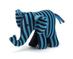 Jelly cat elephant rattle