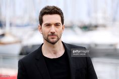 British actor Luke Roberts poses during a photocall for the TV series. Cannes, Poses, Holby City, Luke Roberts, Black Sails, For Your Eyes Only, British Actors, Most Beautiful Man, Best Actor