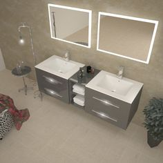Find This Pin And More On Woodstock Ideas Luxury Bathroom Wall Hung Double Basin