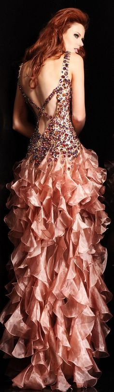Find Sherri Hill 8502 nude sweetheart high low prom dresses ...