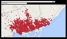 Grief's geography: Mapping Torontonians killed in three wars [Interactive] Geography Map, Interactive Map, Wwi, Family History, Grief, Genealogy, Toronto, Diagram, Infographics