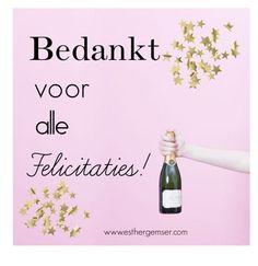Bedankt voor de felicitaties by esthergemser-kunst on Polyvore featuring kunst