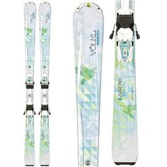 Volkl Aurena Skis + Essenza 4Motion 10.0 Bindings - Women's 2014 155-170