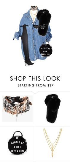 """""""Untitled #631"""" by deaja-xx ❤ liked on Polyvore featuring DANNIJO, Lilly e Violetta, Killstar and Kenzo"""