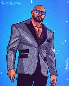 looked like a straight up pimp on this week. Wwe All Superstars, John Cena Wwe Champion, Batista Wwe, Dave Bautista, Wwe Pictures, Wwe World, Wwe Champions, Wrestling Wwe, Roman Reigns