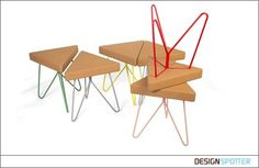 From Filipa Mendes and Gustavo Macedo (Portugal): Tres Stool