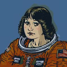 Woman in Space by Philip Bond, 2009