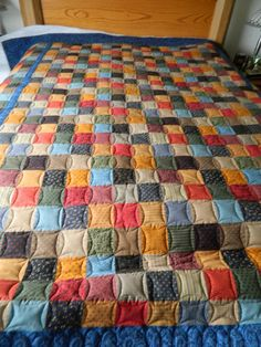 Cheater Print Quilt posted by Becky from the quiltingboard.com  Looks great!!  Quilting's all about making something from anything you have :)
