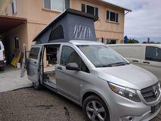 Mercedes Metris Westfalia >> 1000+ images about Campers - Minivan Conversions on Pinterest | Mercedes benz vito, Camper van ...