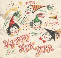 happy vintage new year wishes vintage newyears cards new year wishes