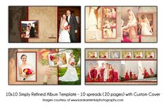 Blend wedding album design set 01 wedding albums pinterest wedding albums templates glossy prints carefully maintained on acid free mounts interleaved with tissue newspaper page pronofoot35fo Images