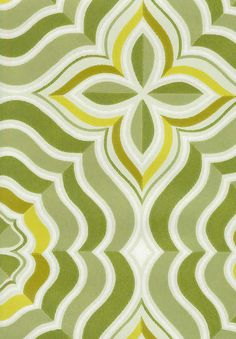 Kaleidoskooppi- Pihlgren & Ritola Backgrounds, Colours, Warm, Contemporary, Green, Pattern, Home Decor, Decoration Home, Room Decor