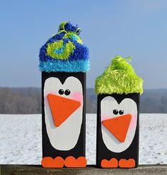 2 x 4 Wooden Penguins - CreativeMeInspiredYou.com                              …