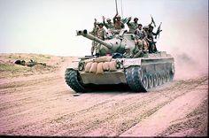 Iranian M47M Patton tank, Iran Iraq War.