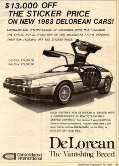 Discount DeLoreans - Columbus, OH #vintagecars
