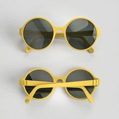 3D printed sunglasses.