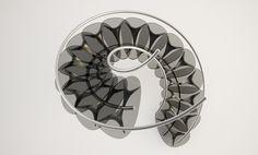 Organic Spiral Staircase by DesignLibero