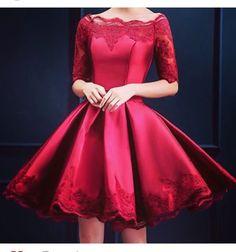 vestido rojo beautiful pretty dress red sexy fiestas