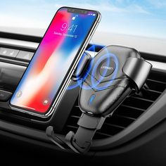 Galaxy S9//S9 Plus Note 8//5 S8//S8 Plus S7//S7 Edge S6 Edge Plus GREATSMART Wireless Charger pad Wireless Charging Station 10W Fast Wireless Charger Charging Pad Stand No Adapter