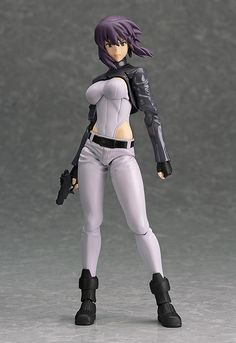 figma Motoko Kusanagi 'GHOST IN THE SHELL STAND ALONE COMPLEX' version | articulated figure | Sched release date of 2014/12 | Sculptor=Max Factory (Naoya Takahashi)