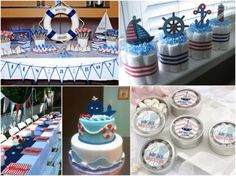 Nautical Baby Shower And Party Favors Ideas From HotRef.com  #nauticalbabyshower