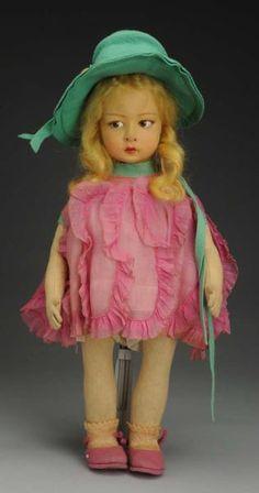 Pretty Lenci Girl Doll