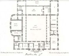 Plan of the first floor of Chatsworth, c. 1800(?)