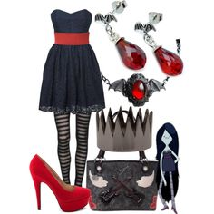 """""""marceline"""" love the dress, leggings and shoes"""