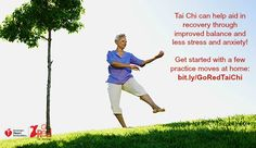 Try #TaiChi with a few simple moves!