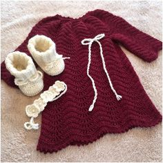 Julekjole til en lille december pige hkling crochetaddict brigitteslothdesign egetdesignhellip
