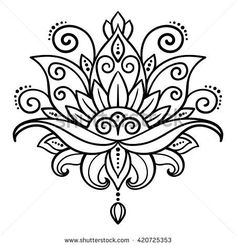 Lotus Flower Tattoo Designs Stock Photos And Images – flower tattoo – mandala