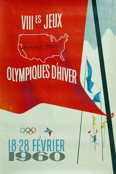 1960 Squaw Valley Winter Olympic Games ~ Anonym #Olympics #SquawValley1960