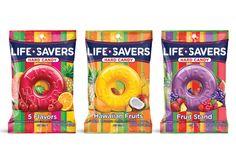 LifeSavers packaging design