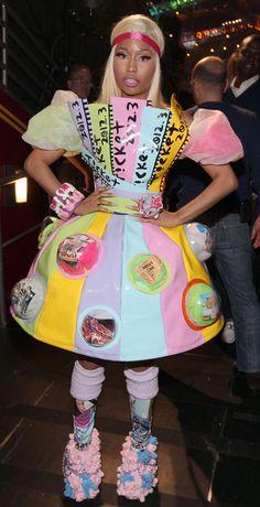 Gallery For gt Nicki Minaj Crazy Dress