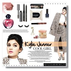 """""""The beautiful Kylie Jenner"""" by aidasusisilva ❤ liked on Polyvore featuring beauty, NARS Cosmetics, H&M, Bobbi Brown Cosmetics, Topshop and MAC Cosmetics"""