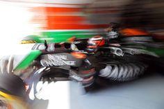 """Nico Hulkenberg: """"Frenar desde una velocidad alta en las chicanes con un alerón trasero muy fino siempre es difícil"""""""