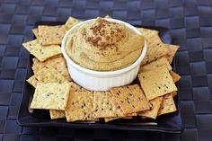 Creamy Indian-Spiced White Bean Dip - Gluten-free + Vegan