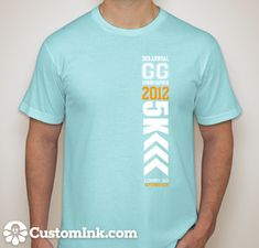 5k tshirt design