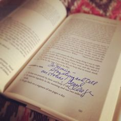 """My signed copy of """"Things I Should Have Told My Daughter: Lies, Lessons & Love Affairs""""...by Pearl Cleage"""