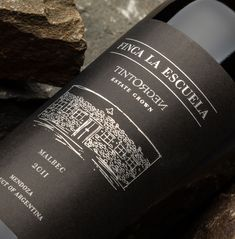 #Packaging #Design #Wines #GraphicDesign #Design #Label #NewProject #FincaLaEscuela