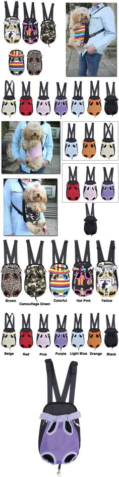 Dog Cat Nylon Pet Puppy Dog Carrier Backpack Fr... - Exclusively on #priceabate #priceabateAnimalsDog! BUY IT NOW ONLY $7.99