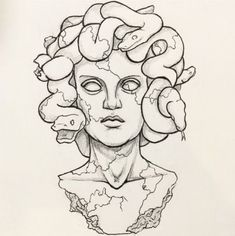 gorgon tattoo | Tumblr