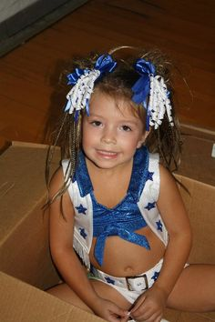 OMG LOVE IT!  Dallas Cowboys Cheerleader outfit