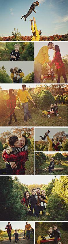 Illinois Christmas Tree Farm family portraits by Twinty Photography, www.twintyphotography.com/blog